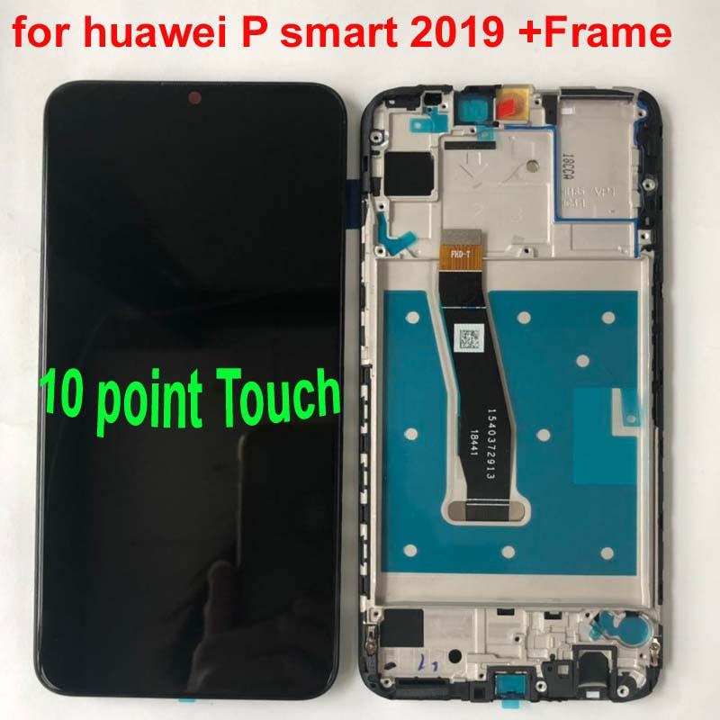 """Image 2 - Original New For 6.21"""" Huawei P Smart 2019 LCD Display Screen+Touch Panel Digitizer For POT LX1/POT LX1AF/POT LX2J With Frame-in Mobile Phone LCD Screens from Cellphones & Telecommunications"""