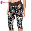 Pinkqueen Leggins Fitness Women Dolls Horror Printed Color Trousers Skinny Leggins Pant Legging