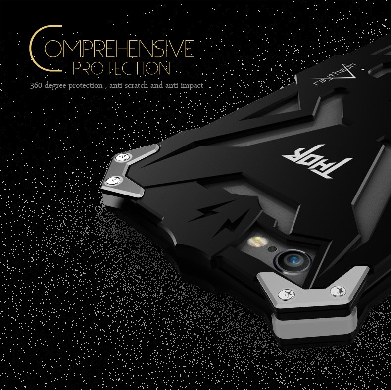 best service 1ee34 9080e Zimon Metal Armor Case iPhone 7 Plus Aluminum Cover for iPhone 6S 5S ...