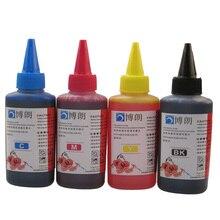 Универсальные 4 цветные чернила для HP, 4 цвета+ 100 мл, для HP Премиум-чернила, обычные чернила для принтера HP все модели