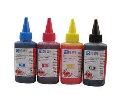 Универсальные 4 цветные чернила для hp, 4 цвета + 100 мл, для hp чернила премиум-класса, общие для hp принтера чернил все модели