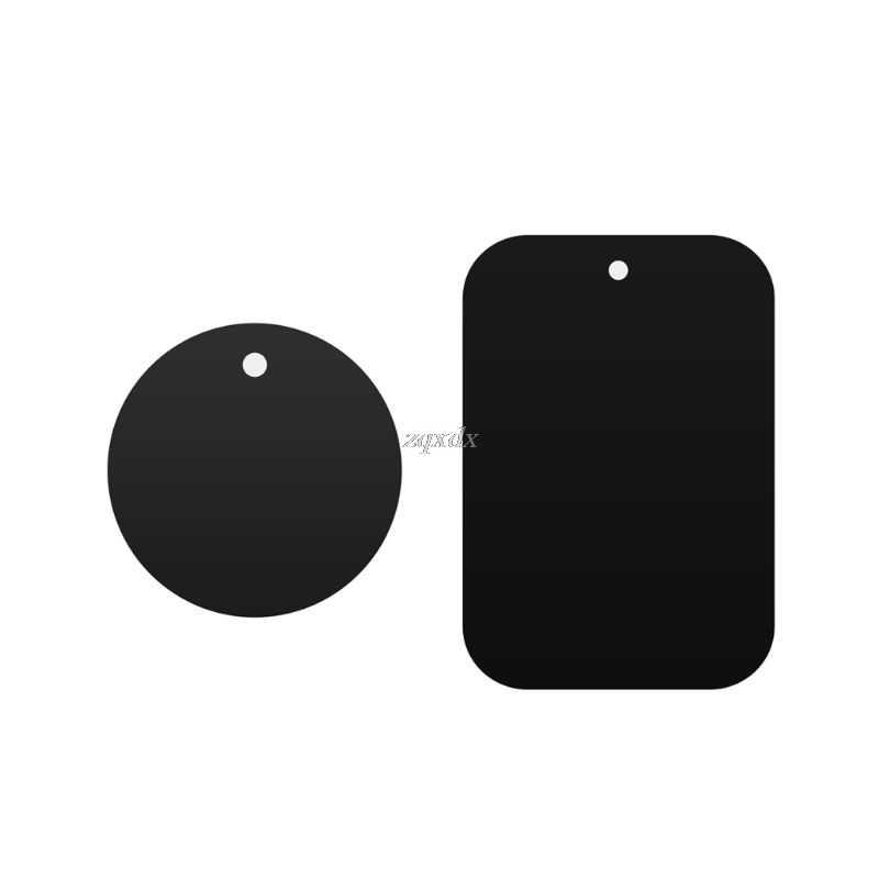 Logam Pelat Magnetik Mobil Mount Magnet Pemegang Telepon Stiker Perekat Putaran Pengganti Whosale & Dropship