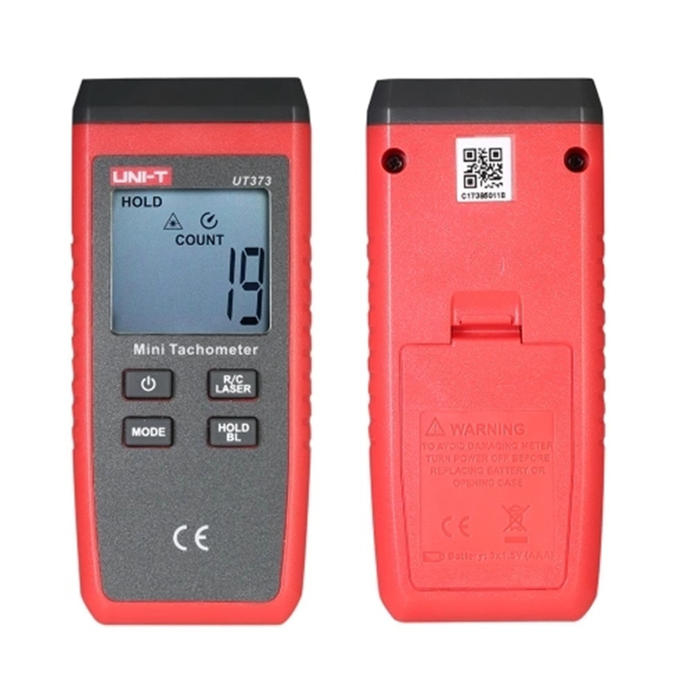 UNI T UT373 Mini Digital Laser Non Contact Laser Tachometer Measurement Meter Km h Backlight in Speed Measuring Instruments from Tools