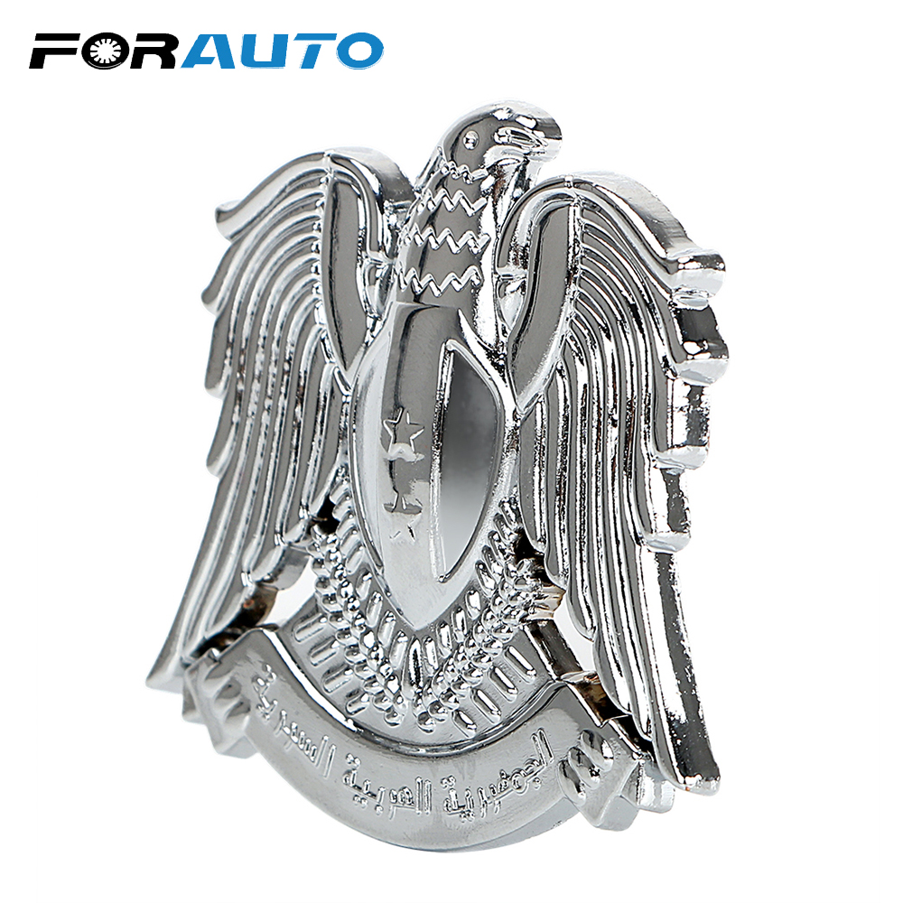FORAUTO 3D Eagle Emblem Metal Badge Car Stickers and Decals Personalized Auto Sticker Universal Car-styling Exterior Accessories