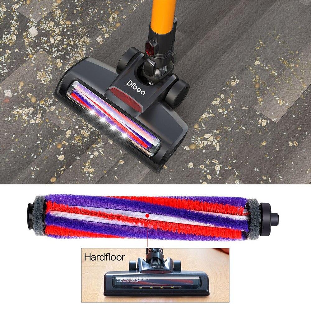 Original Rolling Brush For Dibea D18 Vacuum Cleaner Suitable For Short Plush Carpet, Tile And Hardwood Floor Rolling Brush Parts