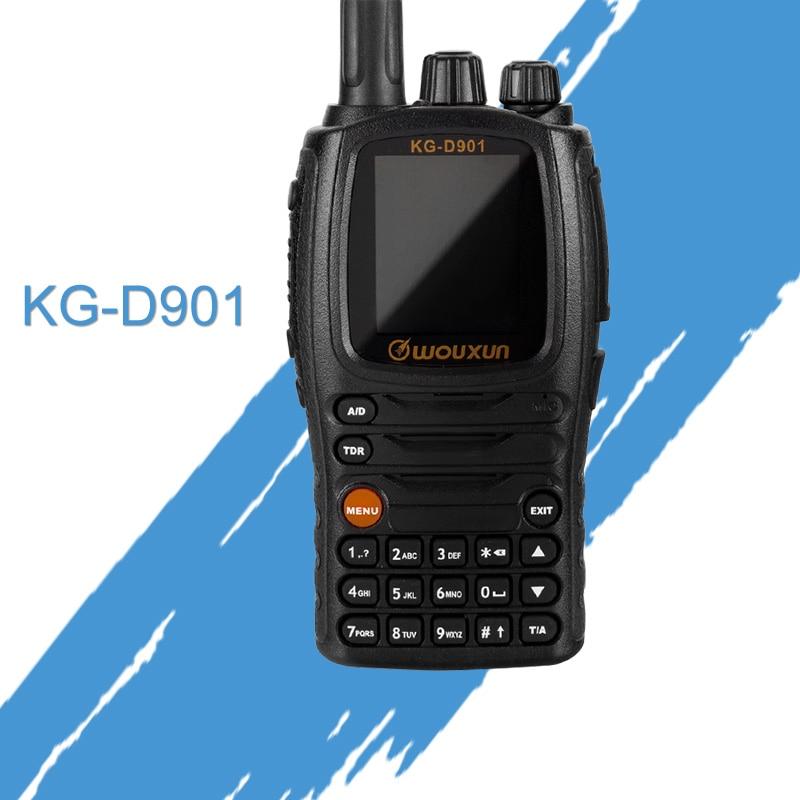 Walkie Talkie Wouxun KG D901 UHF 400 470MHz DMR Digital Two Way Radio 1000 Channels 2000mAh 4W Transceiver