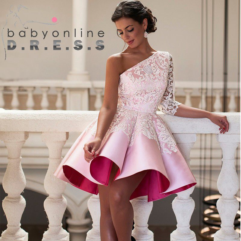 Popular Pink Cocktail Dresses-Buy Cheap Pink Cocktail Dresses lots ...