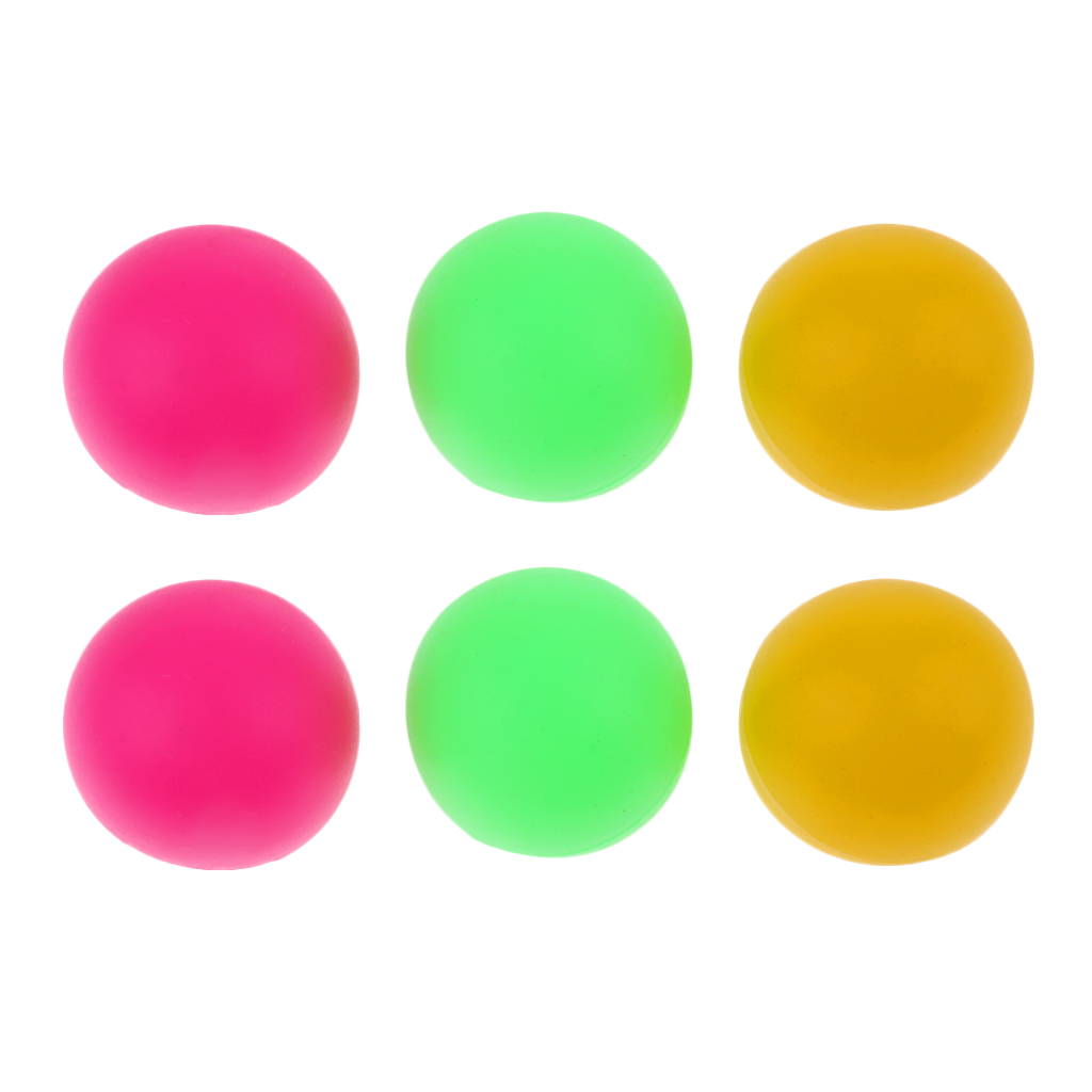 6pcs Mixed Color Cat Balls Plastic Beach Tennis Balls Beer Ping Pong Colorful Practice Replacement Table Tennis Ball