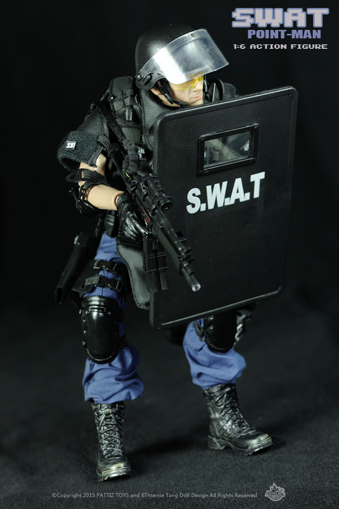 جديد شحن مجاني جديد وصول SWAT الجندي اللعب/ألعاب عسكرية (سوات نقطة رجل)-في شخصيات دمى وحركة من الألعاب والهوايات على  مجموعة 1