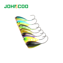 Croatian egg 50mm 13g Popper Fishing Lure Crank Bait Artificial Swim Wobblers Hard with Single Hook