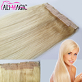 Clip In Human Hair Extensions Aplique Tic Tac Cabelo Humano Remy Human Hair Extensions Clips In 100g One Pcs 13 Color Optional