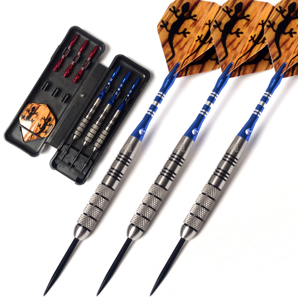 Cuesoul  95% Tungsten Steel Tip Darts with 6pcs Aluminum Shafts - 30 Grams Dart Barrels cuesoul 24 26 28g professional 85% tungsten steel tip darts 145mm with nylon dart shafts csgl n2210