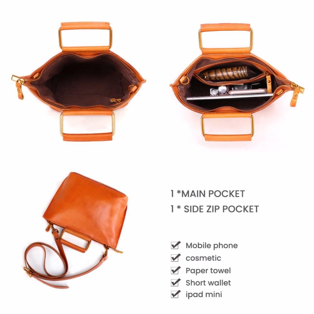 JOYIR Brand Crossbody Bags For Women Shoulder Bag Genuine Leather Women Handbags Messenger Bags Hign Quality Bolsa Feminina Tote in Shoulder Bags from Luggage Bags