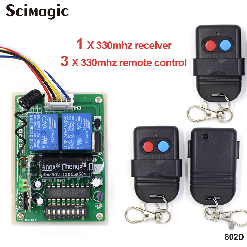 5326 330mhz dip switch auto gate duplicate remote control key fob Remote Control Replacement,3 remote control and 1 receiver for yamaha yzf r6 1999 2004 yzf r1 2002 2003 fz1 fazer 2001 2005 motorcycle stabilizer damper complete steering mounting bracket