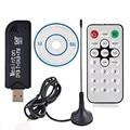 USB 2,0 TV FC0012 DVB-T Dongle Stick sintonizador de TV Digital receptor IR remoto con antena DVB-T + DAB + FM Stick Control remoto