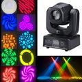 DMX-512 30W Mini LED Stage Light Spot Moving Head Light For DJ Club Party RGBW Gobo Rainbow Stage PAR Show Disco Bar Lighting