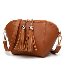 Tassel Shell Women Messenger Bags High Quality Cross Body Bag PU Leather Mini Female Shoulder Bag Handbags Bolsas Feminina стоимость