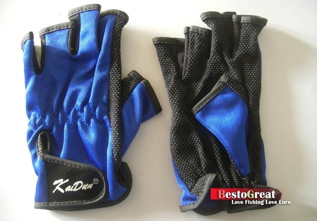 Рыбалка перчатки Приманка снасти Спорт Нескользящие Дизайн FLG02