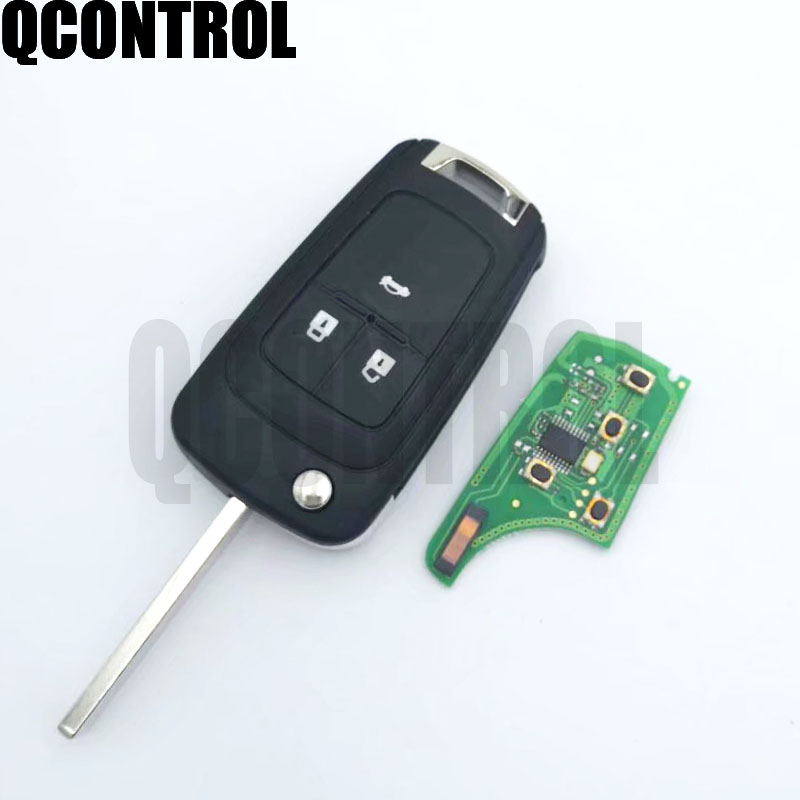 Image 3 - QCONTROL 2/3/4 Buttons Car Remote Key DIY for OPEL/VAUXHALL 433MHz for Astra J Corsa E Insignia Zafira C 2009 2016-in Car Key from Automobiles & Motorcycles
