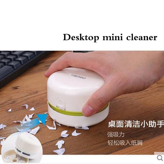 Deli Desk Set Portable Desktop Cleaner Mini Desk Vacuum Cleaner for School Classroom Office Office School Supplies 3