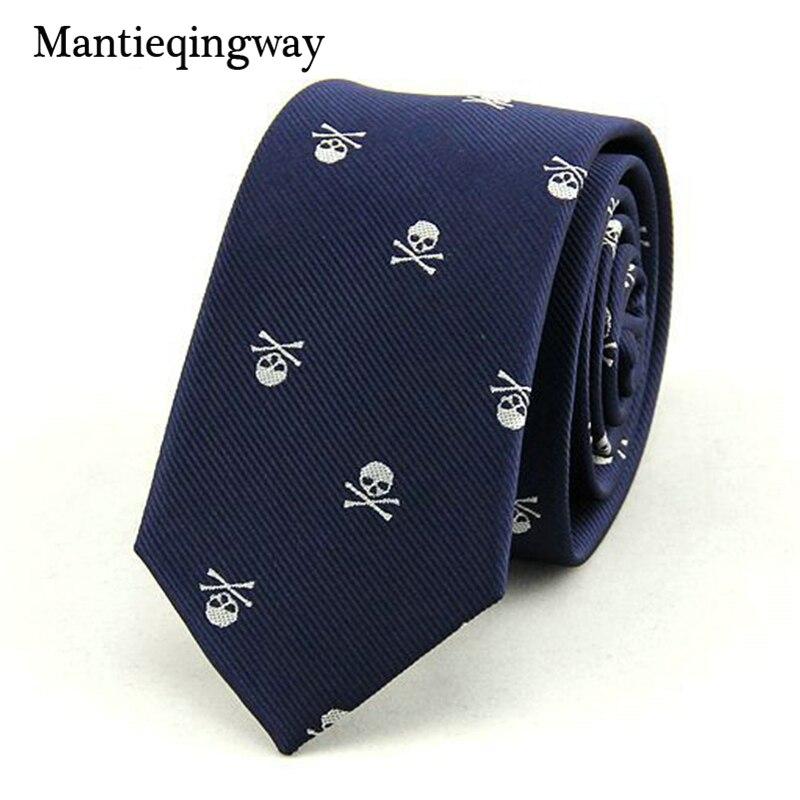 Mantieqingway Corbatas para Hombre 6 cm SKINny Poliéster Seda - Accesorios para la ropa - foto 3
