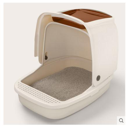 fully-enclosed-cat-litter-box-to-prevent-splash-cat-toilet-cat-cleaning-supplies-size-51-x-38-x-42-cm