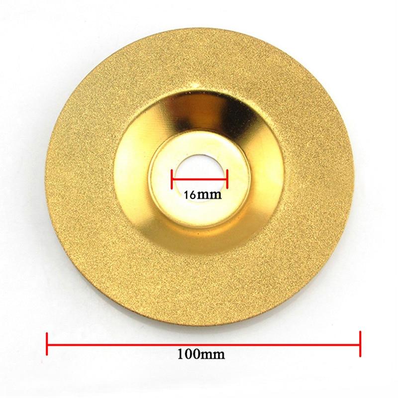 1tk teemantratas 100mm elektrilised tööriistad abrasiivne teemant - Abrasiivid - Foto 2