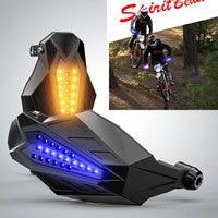 Motorcycle Windproof handguards Glowing Accessories For yamaha r6 2018 yamaha t max 500 honda cb 600 hornet harley motorcycle