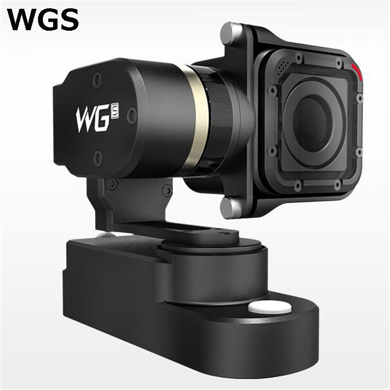 Feiyu Tech WGS FY-WGS 3-Axis Wearable Gimbal for GoPro 4 Session Camera PK WG gimbal WG MIni Free Shipping Original feiyu tech fy wg lite single axis