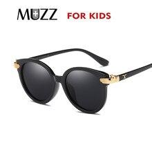 b649d5bbc MUZZ High-quality Protective glasses Fashion Kids Sunglasses Round Sun  Glasses for Girls Boys Children Retro Lens Shades Eyeglas