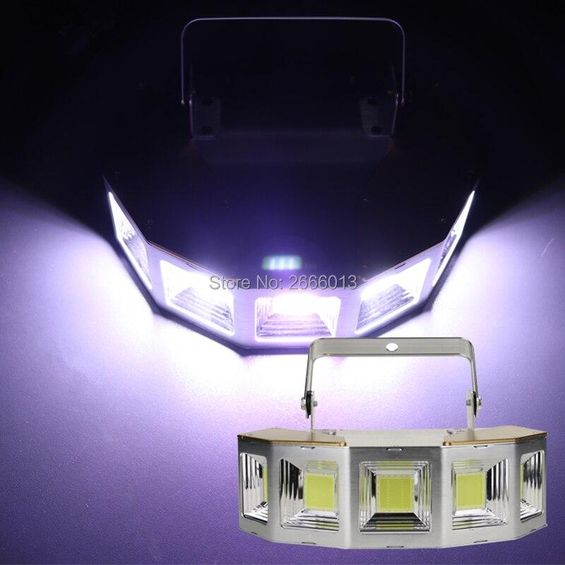 купить High Brightness 150W White Color LED Strobe Light For Party Disco DJ Bar Party/Multi-angle LED Stroboscope Strong Flash Lights по цене 5544.78 рублей