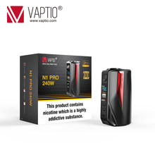 Original Vaptio N1 Pro 240W Mod Electronic Cigarette vape mod with 0.91inch OLED Screen Support VW 18650 Battery(China)