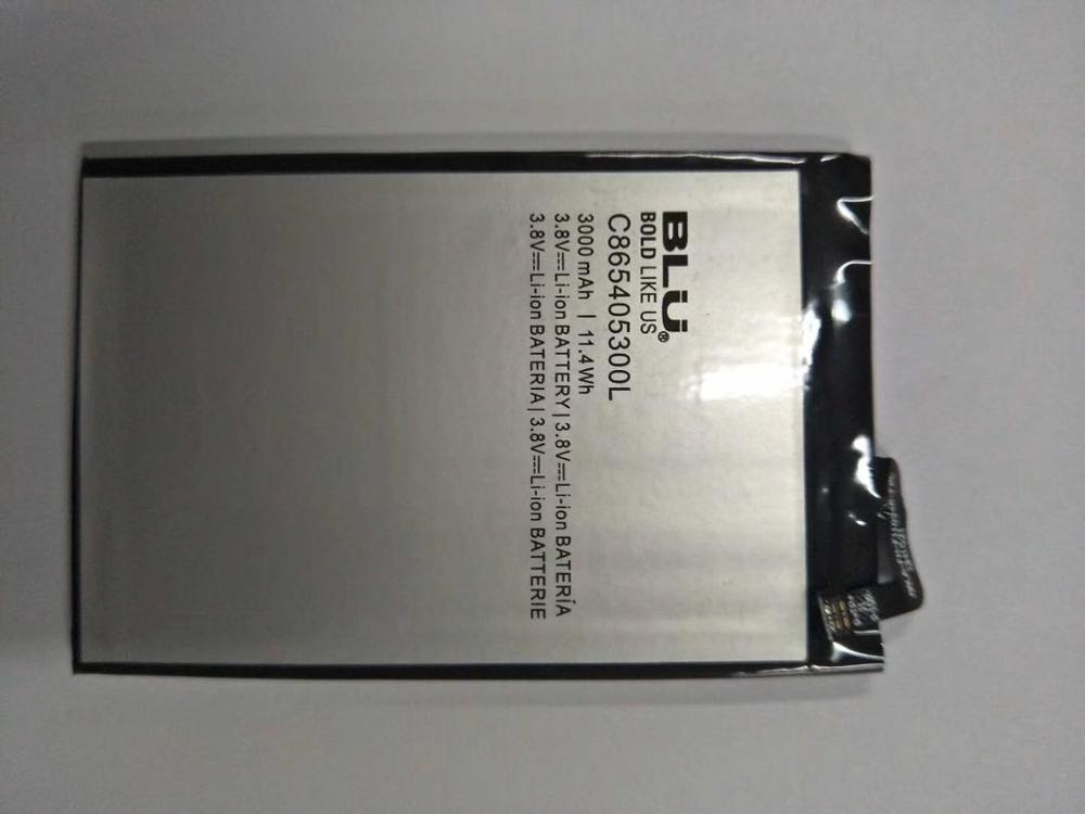 For BLU Mobile phone Studio XL battery C865405300L 3000mAh 3.8V Internal Rechargeable Battery image