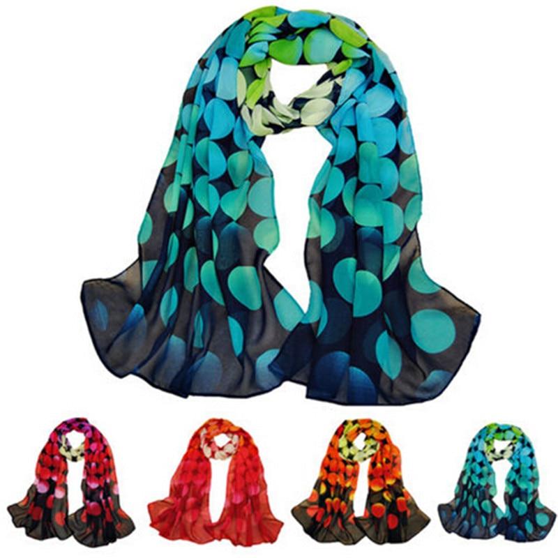 Fashion Women Long Soft Chiffon   Scarf     Wrap   Lady Shawl Winter Stole