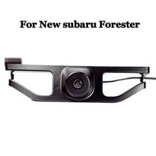 Ночное ВИДЕНИЕ CCD автомобилей Передняя решетка камера для Новый Subaru Forester 2016 парковка assit широкоугольный Водонепроницаемый Поддержка NTSC/PAL