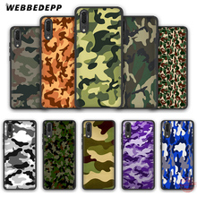 WEBBEDEPP Camouflage Pattern Camo Army Soft Case for Huawei P8 P9 P10 P20 P30