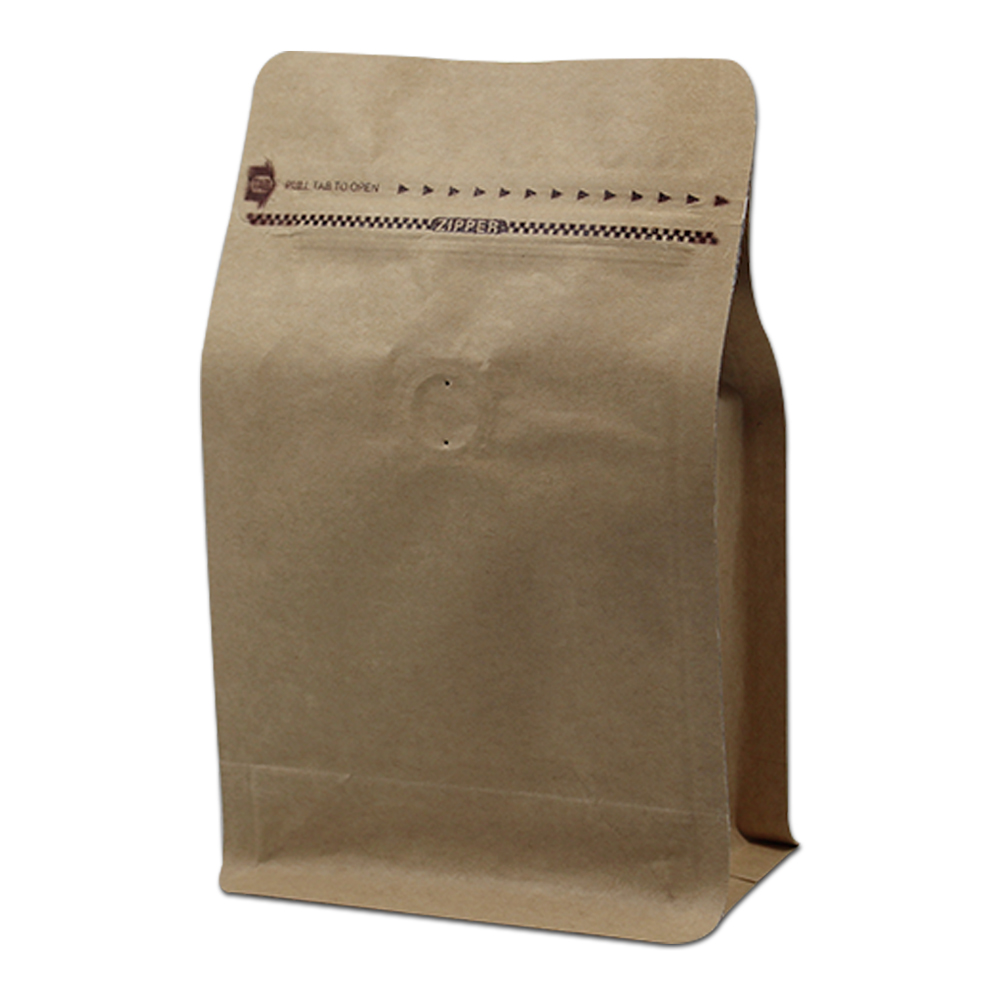 Packaging Coffee Bags With Valve Zipper