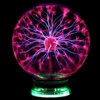 Novelty Plasma Ball Sphere Light Magic Crystal 3 4 5 6 8 Inch Holiday Lamp Magic