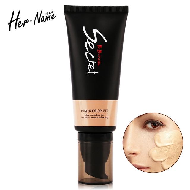 Her name face primer makeup base pore fessional concealer color correcting foundation base Moisturizing make up Brighten