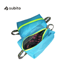 SUBITO Cheap Shoe Bags Storage Outdoor Camping Travel Shoe Bag With Zippers Durable Shoe Bags For Travel Nylon Shoe Stuff Bags