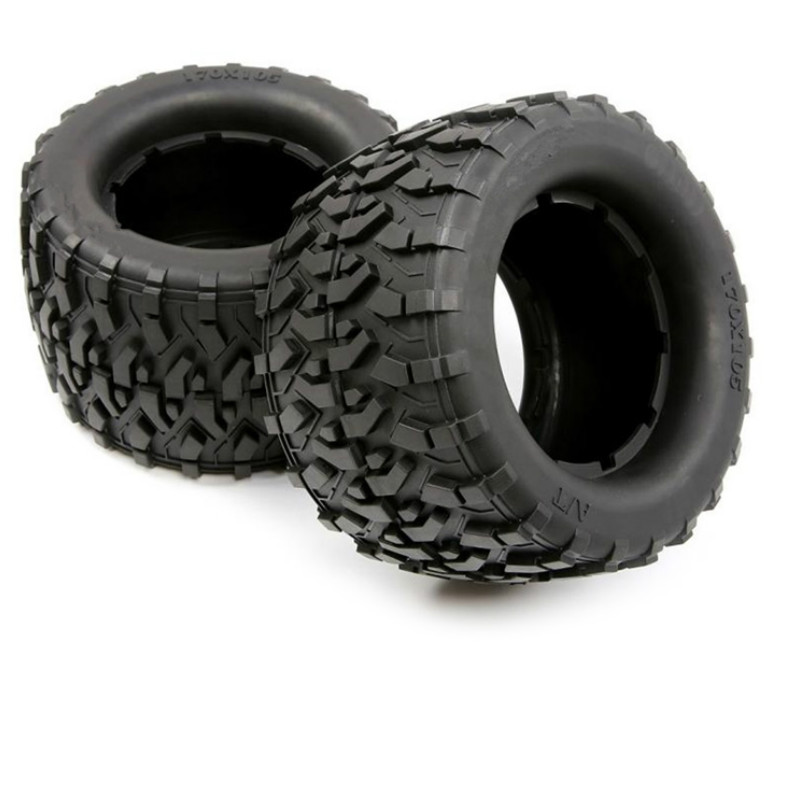 All Terrain Tires Tyre Skin for 1/8 HPI Racing Savage XL FLUX Rovan TORLAND MONSTER BRUSHLESS TRUCK Rc Car PARTS image