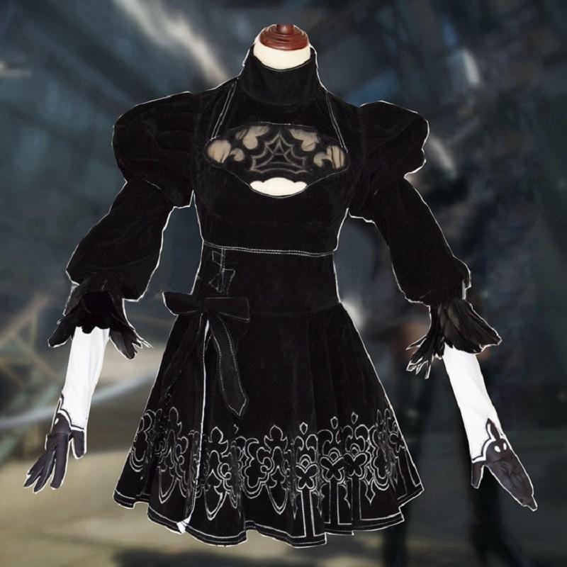 NieR Automata YoRHa No.9 Model S cosplay costume with bag CS