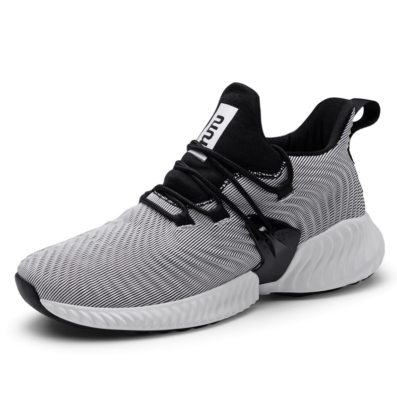2019 Men 39 s Sports Breathable Mesh Running Shoes Sneakers For Men Sport Gym Fitness Jogging Travel Shoes Sneakers Man 39 45 in Running Shoes from Sports amp Entertainment