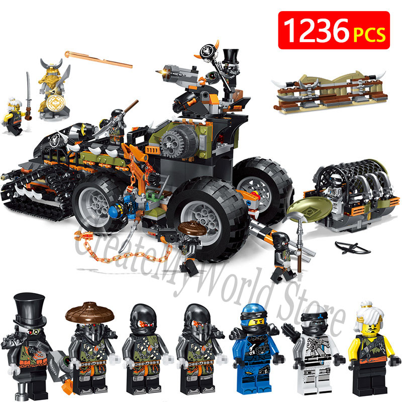 Technic Chariot Set Model LegoINGLYS Ninjago Movie Series 70654 Dieselnaut Heavy Metal Building Blocks Bricks Children Toys bevle store lepin 07045 501pcs with original box movie series robin chariot building blocks bricks for children toys 70905