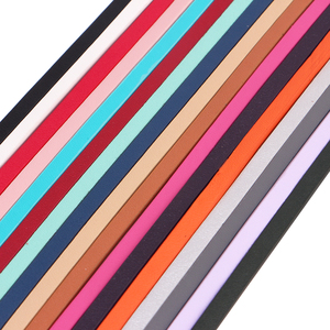 Плоский шнур XCHARMS/5 мм из искусственной кожи/кожаный шнур для лица/Аксессуары для ювелирных изделий/модный материал для изготовления ювелирных изделий/браслета