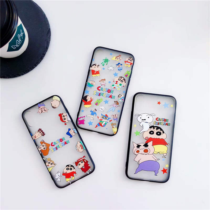 Japan Funny Crayon Shin Chan Phone Case For Iphone 7 7plus