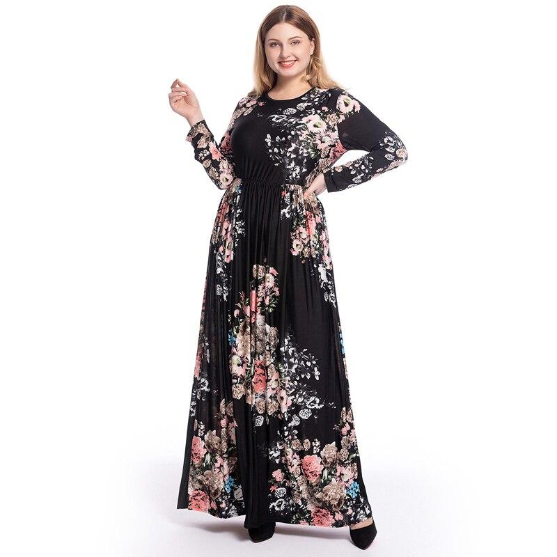 Ramadan Abaya Kaftan Dubai Islamic Muslim Maxi Dress Turkey Women Caftan Marocain Elbise Hijab Dresses Robe Musulmane Longue