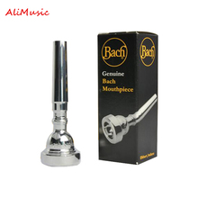 351 Series Bb Trumpet Mouthpiece No 7C 5C 3C Brass Silver Plated Mouthpiece Trumpet Accessories Nozzle Free Shipping