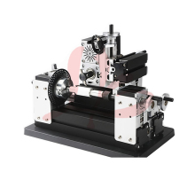 Electroplated Metal type TZ10002MZLP big power mini lathe wood router metal gear milling machine A for