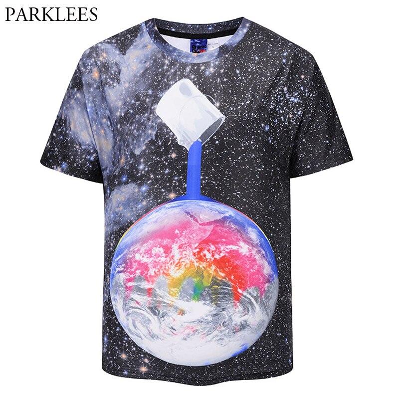 Aliexpress.com : Buy Space Galaxy T shirt Men Women 3D ...